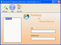 Restore IE Passwords