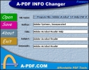 A-PDF INFO Changer