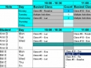 Create Student Class Schedules
