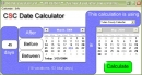 CSC Date Calculator