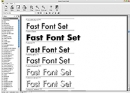 Fast Font Set