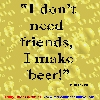 Beer Quote Screensaver
