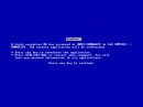 Bluescreen Screensaver