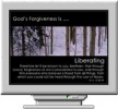 God's Forgiveness Screen Saver