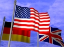 Streaming Flag Screen saver