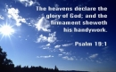 The Heavens Declare