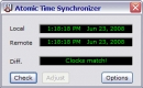 Atom Time Synchronizer