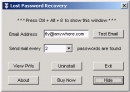 Lost Password Recovery