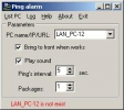 Ping Alarm
