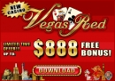 Vegas RED Casino - $888 FREE!