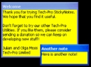 Tech-Pro Sticky Notes