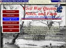 Civil War Quotes, Notes, and Facts