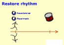 Restore drum rhythm