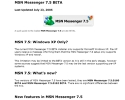 MSN Messenger 7.5 InfoPack