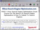 1-Hour Search Engine Optimization Crash Course