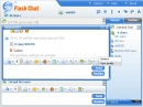 El software 123 Flash Chat. (123 Flash Chat Software)