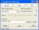 F�cil Grabador de Sonido MP3 (Easy MP3 Sound Recorder)