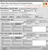 Audio Play And Record OCX