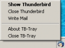 Thunderbird-Tray