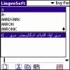 LingvoSoft Dictionary English <-> Persian (Farsi) for Palm OS