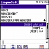 LingvoSoft Dictionary French <-> Arabic for Palm OS