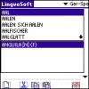 LingvoSoft Dictionary German <-> Spanish for Palm OS