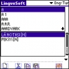 LingvoSoft Dictionary English <-> Turkish for Palm OS