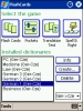 LingvoSoft FlashCards German <-> Czech for Pocket PC