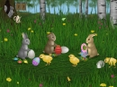 Protector de Pantalla de Conejitos de Pascuas (Easter Bunnies Screensaver)