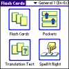 LingvoSoft FlashCards English <-> Spanish for Palm OS