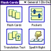 LingvoSoft FlashCards English <-> German for Palm OS