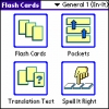 LingvoSoft FlashCards English <-> Italian for Palm OS