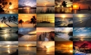 Ocean Sunsets Photo Screensaver