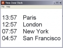 Time Zones Clock