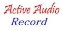 Active Audio Record Component