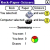 Rock-Paper-Scissors for PALM
