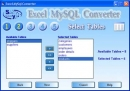 MySQL Excel converter