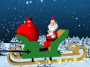 Christmas Santa Claus 3d screensaver