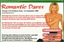 Romantic Dares