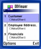 Mobile Database Viewer(Access,xls,Oracle)for S60
