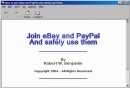 Join eBay and PayPal and safely use them eBook