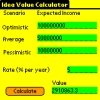 Idea Value Calculator (Windows OS)