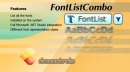 DMControls.FontListCombo .NET control