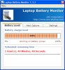 Laptop Battery Monitor