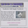 Simply Syndicate Trial