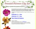 200 Free Flower ClipArt Graphics