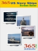 365 US Navy Ships Screen Saver