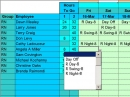 Easy Shift Scheduler for Excel