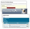 Exercise Tip Email Buddy