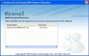 Kernel Hotmail MSN Password Recovery